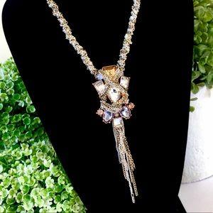 BANANA REPUBLIC St Germain Fringe Necklace NWT $98